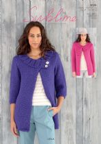 Sublime  Lola Super Chunky - 6125 Jackets Knitting Pattern